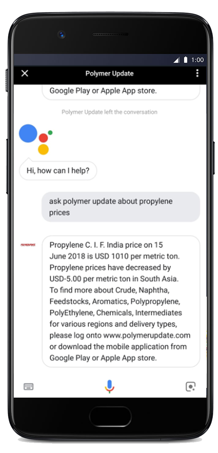 Polymerupdate - Real Time Polymers and Petrochemicals News